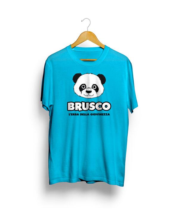 Brusco - L'Erba della Giovinezza, Official T-Shirt, Azure Version