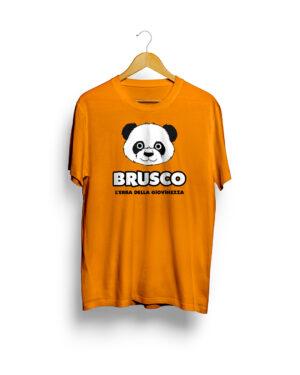 Brusco - L'Erba della Giovinezza, Official T-Shirt, Orange Version