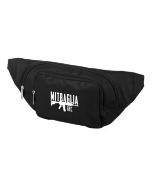 Mitraglia Rec. - Official Black Pouch Marsupio