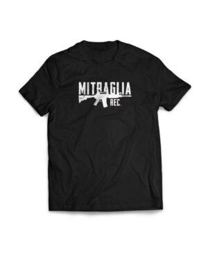 Mitraglia Rec. - Official Black T-Shirt
